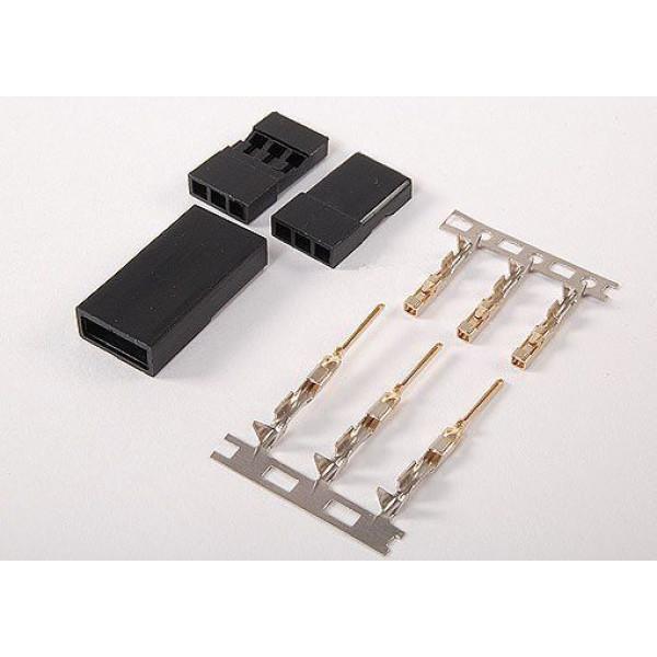 10 SETS  JR Style Servo Connector Plugs Male / Female Pair