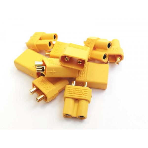 XT30 Connectors 5 pairs (10pcs)