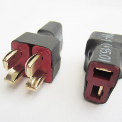 Deans T Plug Parallel Adapter Connector