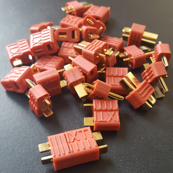 Deans XT Connectors x10 pairs - T Plugs
