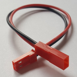 Mini JST (BEC) Extension 22awg 15cm