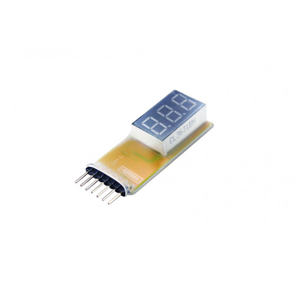 1-6S Lipo Battery Voltage Tester