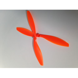 8x4.5 Nylon Slow Fly Propellers 1xCW and 1xCCW (Orange)