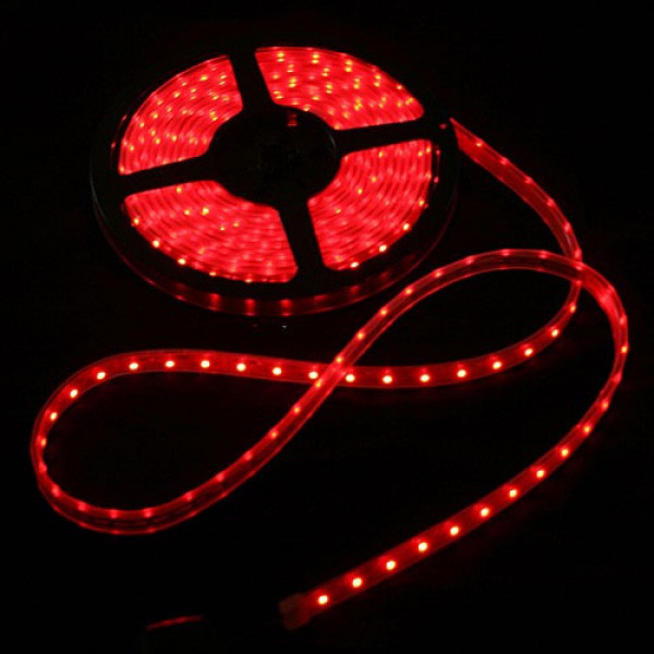 High Density R/C LED Flexible Strip-Red (1mtr)