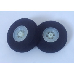 Light Foam Wheel 50x19mm (Pair)