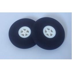 Light Foam Wheel 55x11mm (Pair)