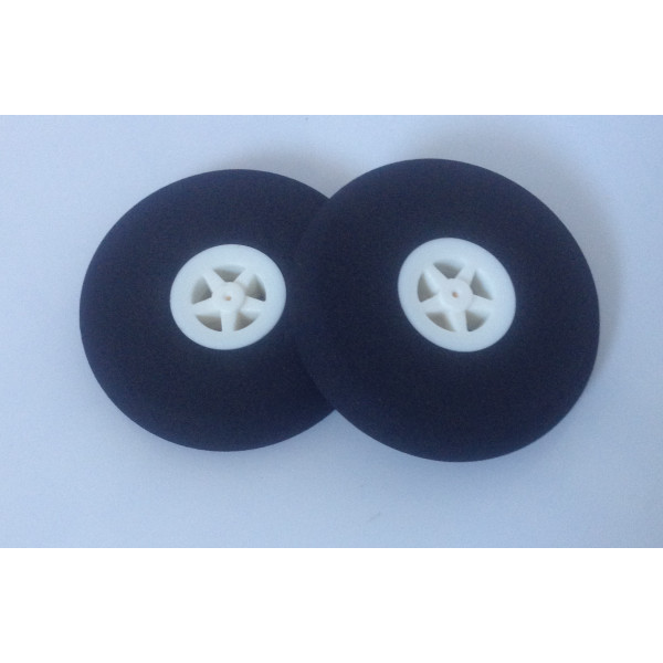 Light Foam Wheel 55x11mm (Pair)