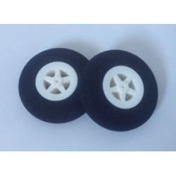 Light Foam Wheel 40x11mm (Pair)