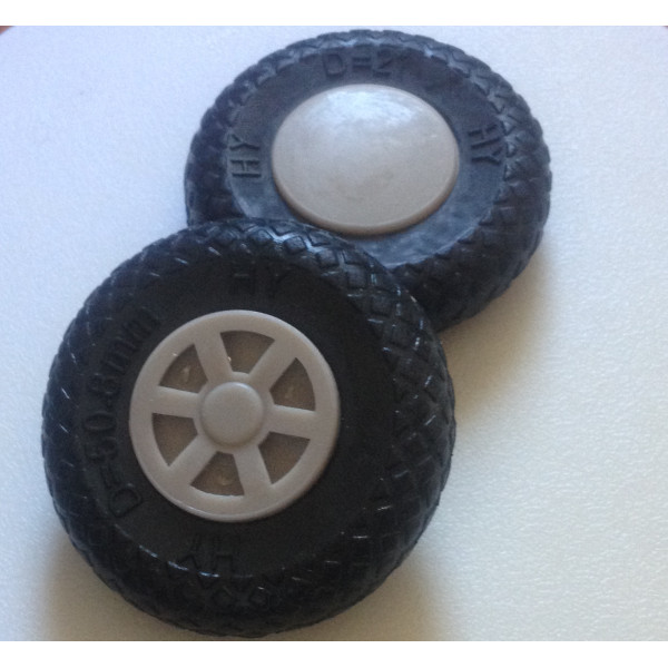 "Scale Wheels 2"" (Pair)"