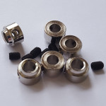 Metal Wheel Collars 5.1 x 5.5mm PK6