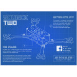"TBS Source Two 5"" Racing Quad Frame"