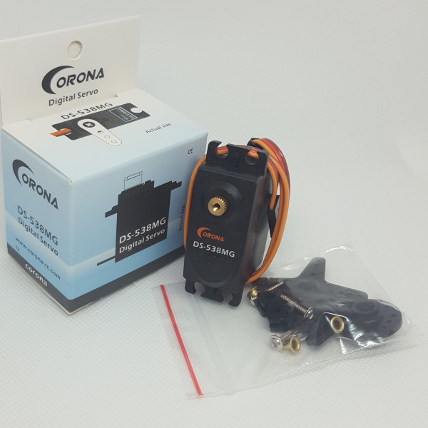 Corona DS538MG Digital Metal Gear Servo 7.0kg / 0.13sec / 53g