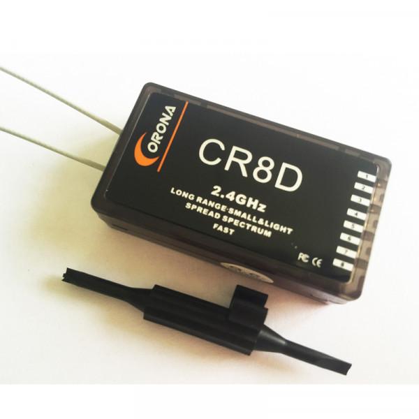 Corona CR8D 2.4Ghz 8ch Receiver (V2 DSSS)