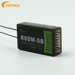 Corona R8DM-SB 2.4G 8CH DMSS Compatible Receiver With S.Bus Support JR DMSS