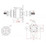 Emax GT2812/05 1840KV 40A Brushless Outrunner Motor