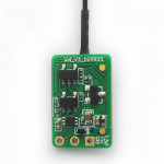 FrSky XM Ultra Mini Lightweight SBUS Receiver.