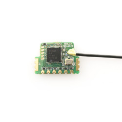 FrSky XMR Ultra Mini Lightweight Receiver.