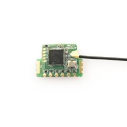 FrSky XMR Ultra Mini Lightweight Receiver.