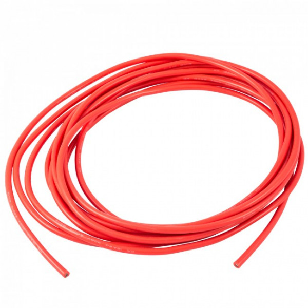 Silicone Wire 12 AWG Red