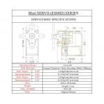 EMAX ES08D 8.5g Digital Servo Plastic Gear
