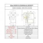 EMAX ES08MA II 12g Analog Servo Metal Gear