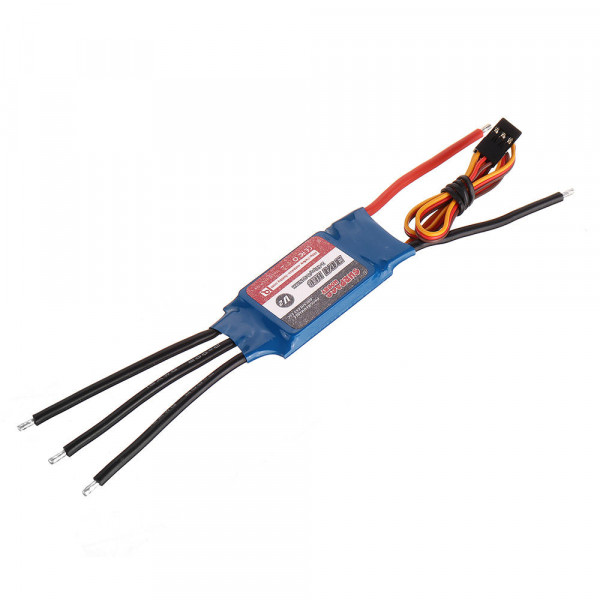 SURPASS Hobby V2 20A Brushless RC ESC 5.5V/3A-1A BEC 2S-4S for RC Airplane